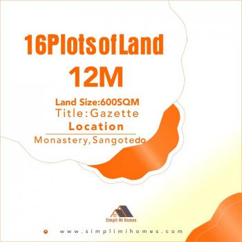 16 Plots of Land with Gazette in a Good Secured Estate, Off Monastery Road Behind Novare Mall Shoprite, Sangotedo, Ajah, Lagos, Residential Land for Sale