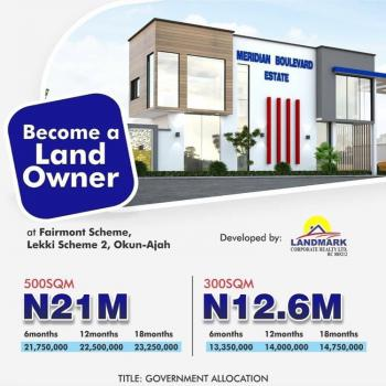 See How Its Going, Abraham Adesanya at Meridian Boulevard Estate,okun-ajah, Lekki, Lagos, Residential Land for Sale