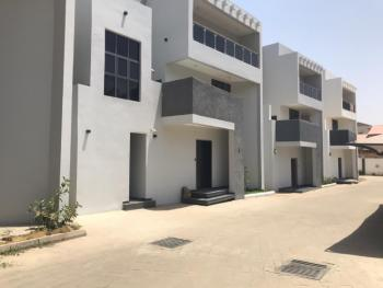 Self Serviced 4 Bedrooms Terrace Duplex with Bq, Wuse 2, Abuja, Terraced Duplex for Rent