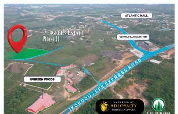 Be Landowner in Epe,lagos: Deposit N250k & Spread Balance for 6 Month in a Fast Developing Area, Ijako Town, Epe, Lagos, Mixed-use Land for Sale