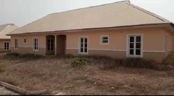 Newly Built 2 Bedroom, Woodhill Estate, Kuje, Abuja, Semi-detached Bungalow for Sale