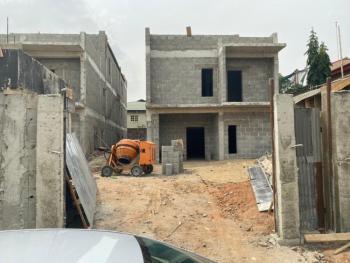 Brand New Detached (carcass) Duplex on 450sqm, Emmanuel Keshi, Magodo, Lagos, Detached Duplex for Sale