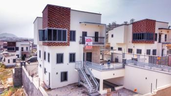 Breadthtaking Views: Smartly Finished 4 Bedrooms Duplex with 1 Bedroom Dq, Off Oladipo Diya Way Near Cedarcrest Hospital, Apo, Abuja, Semi-detached Duplex for Sale