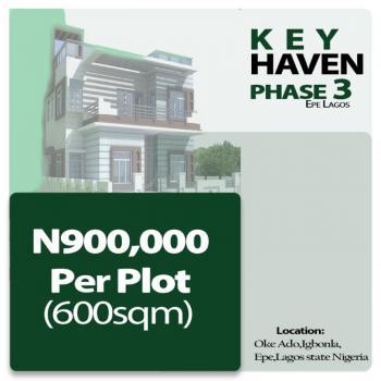 Land, Igbonla Epe, Key Haven Phase 3, Oke-odo, Lagos, Residential Land for Sale