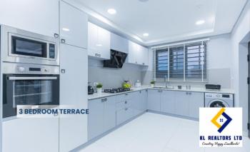 Luxury 3 Bedroom Terrace Duplex with Bq in a Beautiful Estate, Lekki Expressway, Lekki, Lagos, Terraced Duplex for Sale