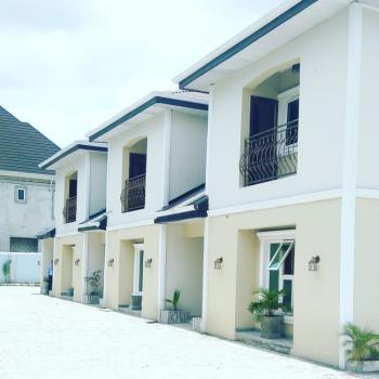 Tastefully Finished 4 Bedroom Terrace Duplex with Federal Light, Shell Cooperative Estate Off G U Akeh Road, Eliozu, Port Harcourt, Rivers, Terraced Duplex for Rent