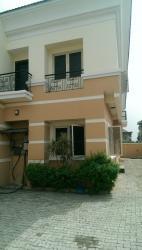 a Relatively New Semi Detached 4 Duplex, Lekki Right Hand Side, Lekki Phase 1, Lekki, Lagos, Semi-detached Duplex for Rent