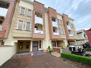 Clean Spacious 4 Bedroom Terraced Duplex with Bq and Private Gate, Off Admiralty Road, Lekki Phase 1, Lekki, Lagos, Terraced Duplex for Sale