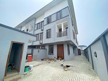 New House Clean 4 Bedroom Terraced Duplex +bq+self Compound+side Unit, By 3rd Roundabout, Lekki Phase 1, Lekki, Lagos, Terraced Duplex for Sale