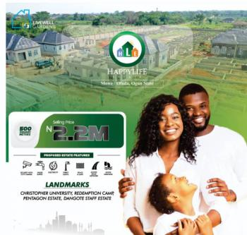 Dry Plots of Land Within a Gated Estate with Good Title, By Redemption Camp, Mowe Town, Ogun, Residential Land for Sale