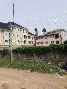 Standard 2 Plots of Dry Land with 2 Story Building in a Secured Area, Off Ago Palace Way, Ago Palace, Isolo, Lagos, Residential Land for Sale