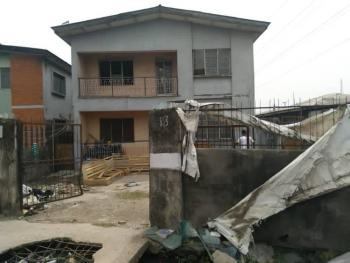 a Storey Building of 4 Unit of 3 Bedroom Flats That Can Be Demolish, Ramlat Simpson Street, Aguda, Surulere, Lagos, Block of Flats for Sale