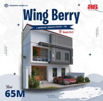 Luxury 3 Bedrooms Terraced Duplex, Omole Phase 2, Ikeja, Lagos, Terraced Duplex for Sale