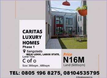600sqm of Land, Caritas Luxury Estate Phase 1, Sangotedo, Ajah, Lagos, Residential Land for Sale