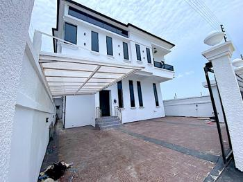 New House Big Compound 5 Bedroom Fully Detached + Bq with Lagoon Views, Chevron, Lekki, Lagos, Detached Duplex for Sale