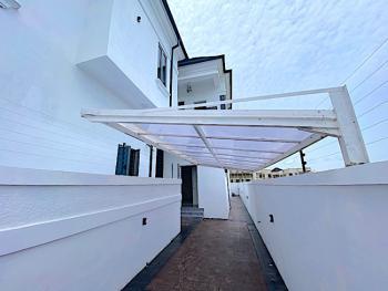 New House 4 Bedroom Fully Detached Duplex+bq+lagoon Views in an Estate, Chevron, Lekki, Lagos, Detached Duplex for Sale