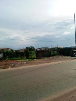 8 ½ Plots of Land in a Good Location, Along Isolo-mushin Road, Before Jakande Estate, Oke Afa, Isolo, Lagos, Commercial Land for Sale