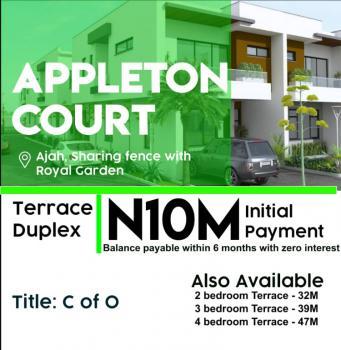 2 Bedroom Terrace Duplex, Appleton Court, Ajah, Lagos, House for Sale