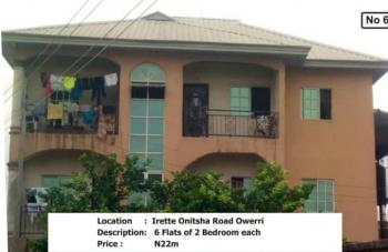 a Portable Block of Six Flats in One Room and Two Rooms Apartment, Irrete, Owerri West, Imo, Block of Flats for Sale