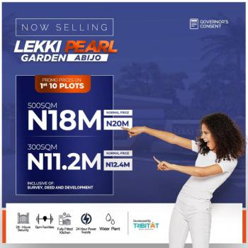 Plot of Estate Land in Good Location, Lekki Pearl Garden 2, Abijo, Lekki, Lagos, Residential Land for Sale