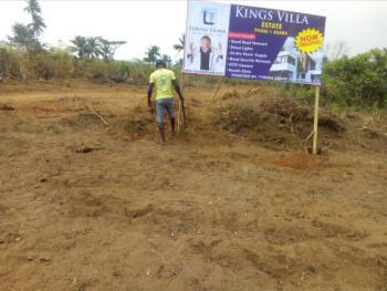 100% Dry Land, Ibusa, Kings Villa Estate, Asaba, Delta, Land for Sale