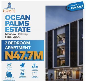 Exquisite 2 Bedroom Apartments (flats), Ocean Palm Estate, Ikate Elegushi, Lekki, Lagos, Block of Flats for Sale