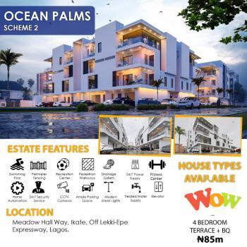 4 Bedroom Terrace Duplex, Ocean Palm Estate, Ikate Elegushi, Lekki, Lagos, Terraced Duplex for Sale