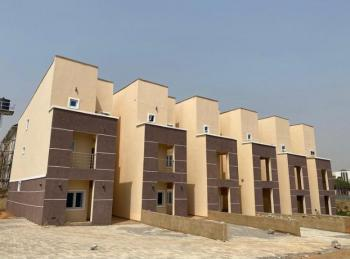 Newly Built 4 Bedroom Terrace Duplex with 2 Living Room and a Bq, Zartech Road, Wuye, Abuja, Terraced Duplex for Sale
