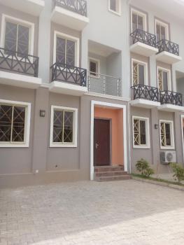Four 4 Bedrooms Terrace Duplex, American International School, Durumi, Abuja, Terraced Duplex for Sale