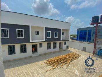 4 Bedroom Terraces, Crown Terraces Inside Vintage Estate1 Minutes Drive to Novaire Mall, Sangotedo, Ajah, Lagos, Terraced Duplex for Sale