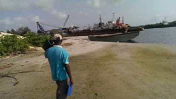 4 Acres of Commercial Water Front Land, Teddy-george Town, Ojo, Lagos, Commercial Land for Sale