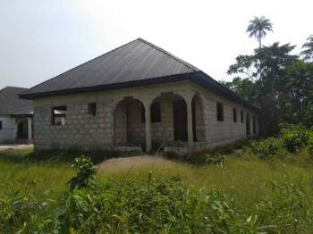 a Bungalow Comprising of a 3 Bedroom, 2 Bedroom and Self Contained, Along The Railway Line Orhuwhorun, Orhuwhorun, Udu, Delta, Semi-detached Bungalow for Sale