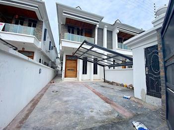 New House 4 Bedroom Semi Detached Duplex +bq+24hrs Light in an Estate, 2nd Toll Gate, Lekki, Lagos, Semi-detached Duplex for Sale