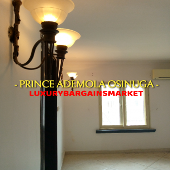 Prince Ademola Osinuga Semi Detached 3 Bed House +2 Rms Bq + Garage!, Central, Old Ikoyi, Ikoyi, Lagos, Semi-detached Duplex for Rent