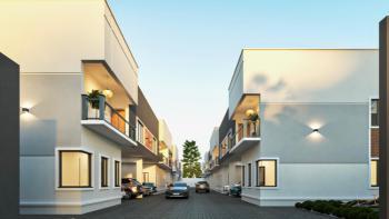 3 Bedroom Terrace Duplex Near Chevron with 6 Months Payment Plan, Orchid Hotel Road, Lafiaji, Lekki, Lagos, Terraced Duplex for Sale