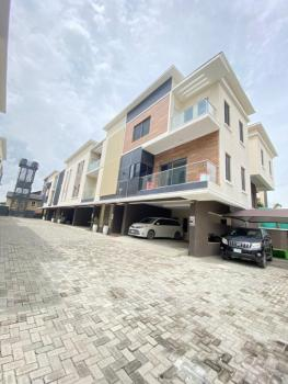 Fully Serviced 4 Bedrooms Terraced Duplex House with a Bq, Gym, Lekki Phase 1, Lekki, Lagos, Terraced Duplex for Sale