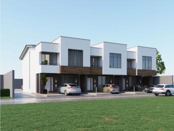 Newly Built 4 Bedrooms Duplex, Off Alpha Beach Road, Igbo Efon, Lekki, Lagos, House for Sale