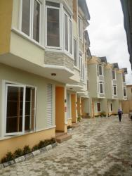 Newly Built 2 Numbers Of 4 Bedroom Terraces For Sale At Onike Yaba, Onike, Yaba, Lagos, 4 bedroom, 5 toilets, 4 baths Terraced Duplex for Sale