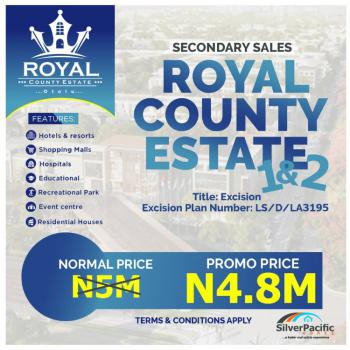 Super Affordable with Government Approved Excision, Otolu, Lekki Free Trade Zone, Lekki, Lagos, Mixed-use Land for Sale