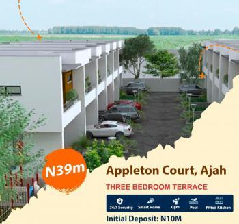 3 Bedroom Terrace Duplex at Appleton Court, Ajah, Lagos, Terraced Duplex for Sale