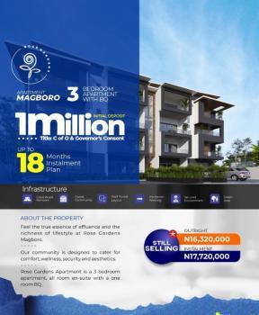 3 Bedrooms Apartment with Bq, Rose Garden, Magboro, Ogun, Block of Flats for Sale