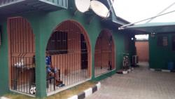 Semi Detached Bungalow of Three (3) Flats, Osubi Close to The Airport, Okpe, Delta, Semi-detached Bungalow for Sale