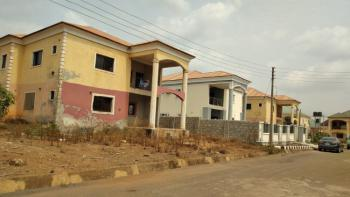 4 Bedrooms Duplex Carcass with 2 Parlours, By Ebeano Junction, Lokogoma District, Abuja, Detached Duplex for Sale