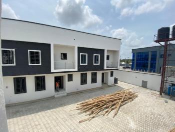 4 Bedroom Semi Detached Duplex, Crown Terraces Inside Vintage Estate Opposite Crown Estate, Sangotedo, Ajah, Lagos, Semi-detached Duplex for Sale