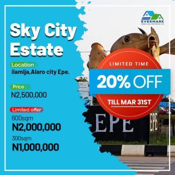 Affordable Land, Sky City Estate  2minutes to New Lagos International Airport, Eleranigbe, Ibeju Lekki, Lagos, Mixed-use Land for Sale