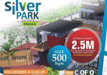Estate Land with C of O, Along Airport Road, Emene, Enugu, Enugu, Residential Land for Sale