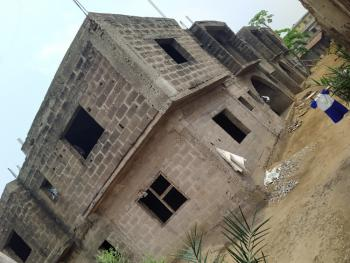 3 Bedrooms Block of 4 Flats Upto Roofing Level, Unity Estate, Egbeda, Alimosho, Lagos, House for Sale