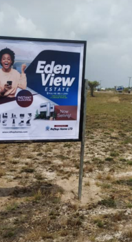 Most Affordable Estate  Facing The Tarred Road, Edenview Estate, Folu Ise, Ibeju Lekki, Lagos, Mixed-use Land for Sale