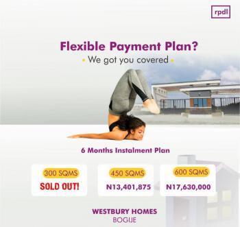 C of O Land, Westbury Home Inside Beachwood Estate, Bogije, Ibeju Lekki, Lagos, Residential Land for Sale