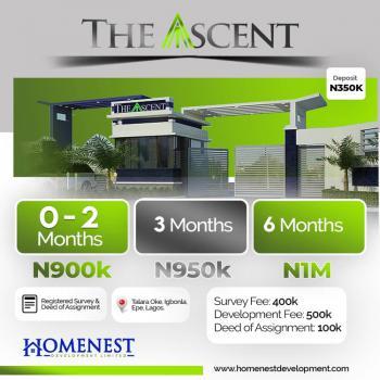 Land, The Ascent, Talara Oke, Igbonla, Epe, Lagos, Mixed-use Land for Sale